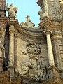 068 Catedral de València, porta dels Ferros, medalló de Calixt III.JPG