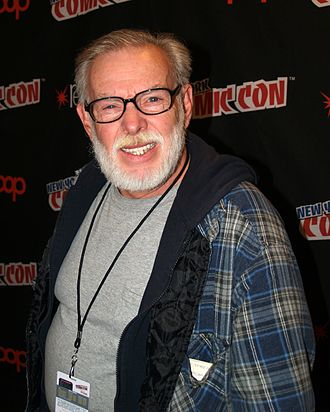 Jay Lynch - Lynch at the 2014 New York Comic Con