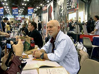 Chris Claremont - Claremont being interviewed on breaking into the comics industry at the 2011 New York Comic Con