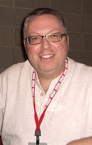 Ron Marz - Marz at the New York Comic Con in Manhattan, October 9, 2010.