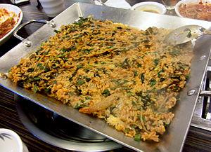 Agwi-jjim - Bokkeumbap made from agujjim sauce