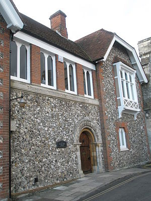 Archdeacon of Chichester - Bell House, former archdeacons' residence in Chichester