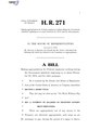 116th United States Congress H. R. 0000271 (1st session) - No Work Without Pay Act.pdf