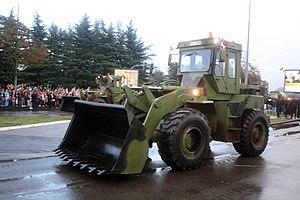 IMK 14. oktobar Kruševac - Serbian Army ULT-160CK loader