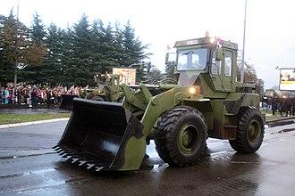 14. oktobar - Serbian Army ULT-160CK loader