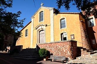 Roussillon, Vaucluse - Image: 120613 Roussillon 09