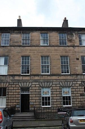 Thomas Jackson Crawford - 13 Great King Street, Edinburgh