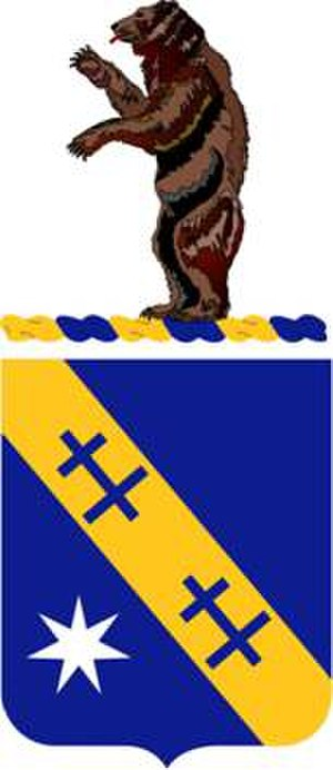 140th Infantry Regiment (United States) - Coat of arms