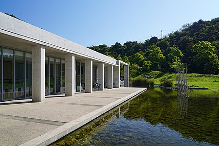 postmodern residential architecture. Plain Postmodern Bennesse House In Naoshima Kagawa Japan By Tadao Ando With Postmodern Residential Architecture