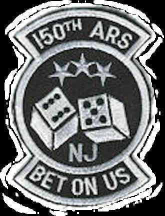 150th Air Refueling Squadron - Legacy Emblem