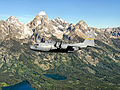 153d Airlift Wing C-130 over the Rockies.jpg