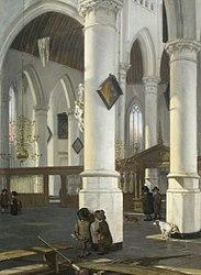 Emanuel de Witte: Interior of the Oude Kerk, Delft