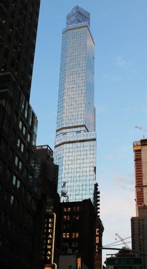 1717 Broadway - 1717 Broadway seen in February 2017.