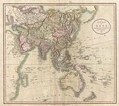 1806 Cary Map of Asia, Polynesia, and Australia - Geographicus - Asia-cary-1806.jpg