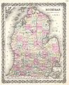 1855 Colton Map of Michigan - Geographicus - Michigan-colton-1855.jpg