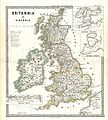 1865 Spruner Map of the British Isles (England, Scotland, Ireland) - Geographicus - Britannia-spruner-1865.jpg