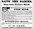 1878 milk advert Cambridge Massachusetts.png