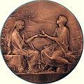 1895 Oscar Roty Medaille-mariage Hochzeitsmedaille SEMPER.jpg