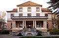 1898 bis 1900 durch Architekt Emil Lorenz für Kommerzienrat Fritz Kaeferle erbaute Villa, Lüerstraße 5, Hannover-Zoo, heute (Stand 01 2014) Gästehaus der Niedersächsischen Landesregierung.jpg