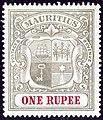 1907 1R Mauritius unused Yv130 SG175.jpg
