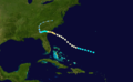 1911 Atlantic hurricane 3 track.png