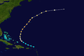 1947 Atlantic hurricane 9 track.png