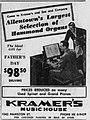 1960 - Kramers Music House - 14 Jun MC - Allentown PA.jpg