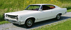 1967 AMC Marlin white with red interior 01.jpg