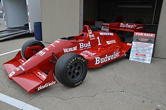 ABC Supply 500 - 1988 Pocono 500 winning car driven by Bobby Rahal.