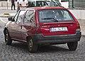 1995 Citroën AX Entreprise 14D, rear.jpg
