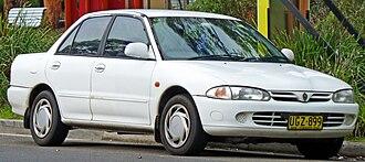 Proton Wira - 1995–1996 Proton Wira XLi sedan