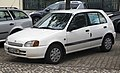 1998 Toyota Starlet 1.3 (EP91), front left.jpg