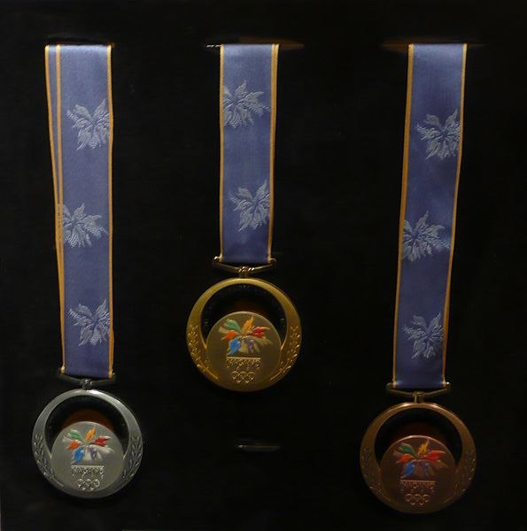 1998 Winter Olympics medals