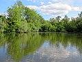 19th-century artificial fishing lake at Matching, Essex, England 01.jpg