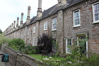Vicars' Close, Wells - Numbers 1 to 13