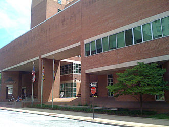 The Baltimore Sun - The Baltimore Sun, North Calvert Street