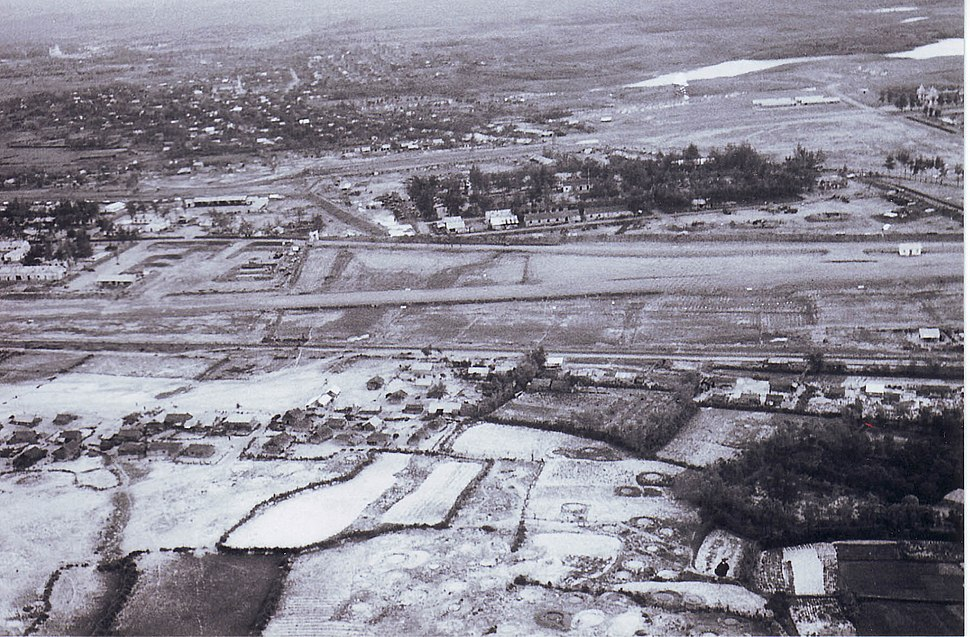 1st Regt Compound at La Vang Airfield late 1967 looking south