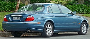 Jaguar S-Type - 1999–2004 Jaguar S-Type sedan (Australia)