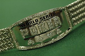 World Series of Poker bracelet - Image: 2005 WSOP Championship bracelet