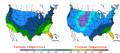 2006-12-25 Color Max-min Temperature Map NOAA.png