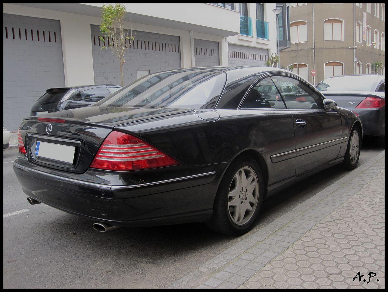 File 2006 mercedes benz cl 500 w215 4596570781 jpg for Mercedes benz cl 240