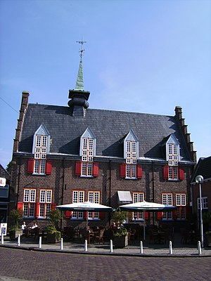 Tubbergen - Former city hall of Tubbergen