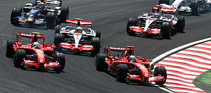Formula One 2007 Rd.17 Brazilian GP: Start of ...