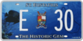 2007 license plate Saint Eustatius.png
