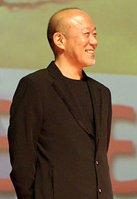 Joe Hisaishi vid 2008 års Asian Film Festival i Deauville.