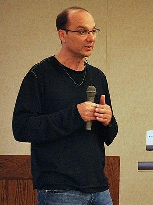 Andy Rubin - Rubin at 2008 Google Developer Day in Japan.