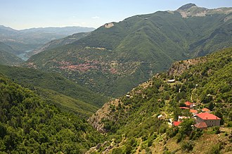 Galičnik - Image: 20090714 Galicnik Debar panoramic