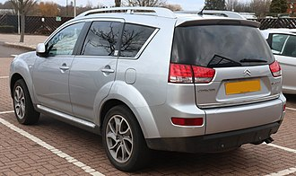 Citroën C-Crosser - Rear view