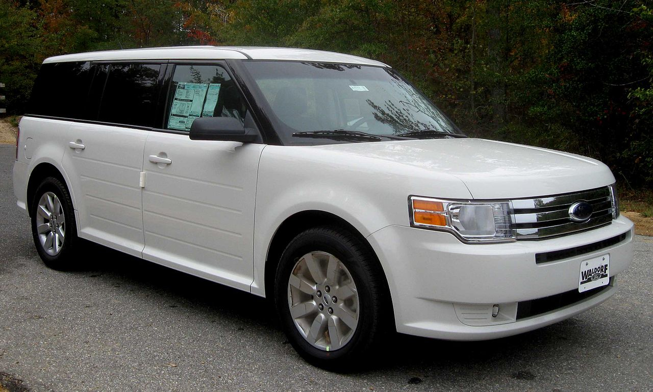 File 2009 ford flex se jpg wikimedia commons