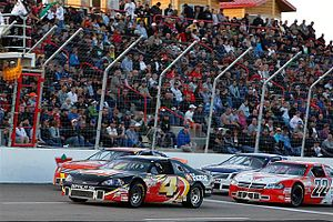 NASCAR Pinty's Series - Two Fords a Dodge and a Chevy lead in 2009